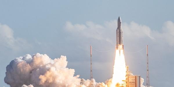 100ème lancement de la fusée Ariane 5