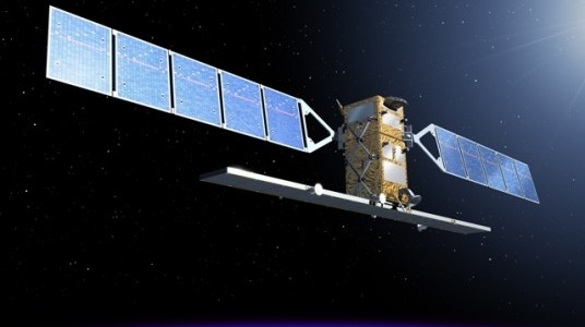 localisation satellite Sentinel 1