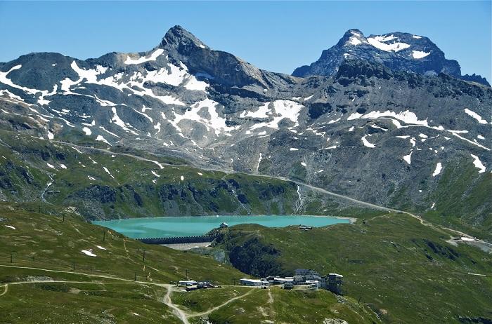 lac du glacier de la Vallée d'Aoste