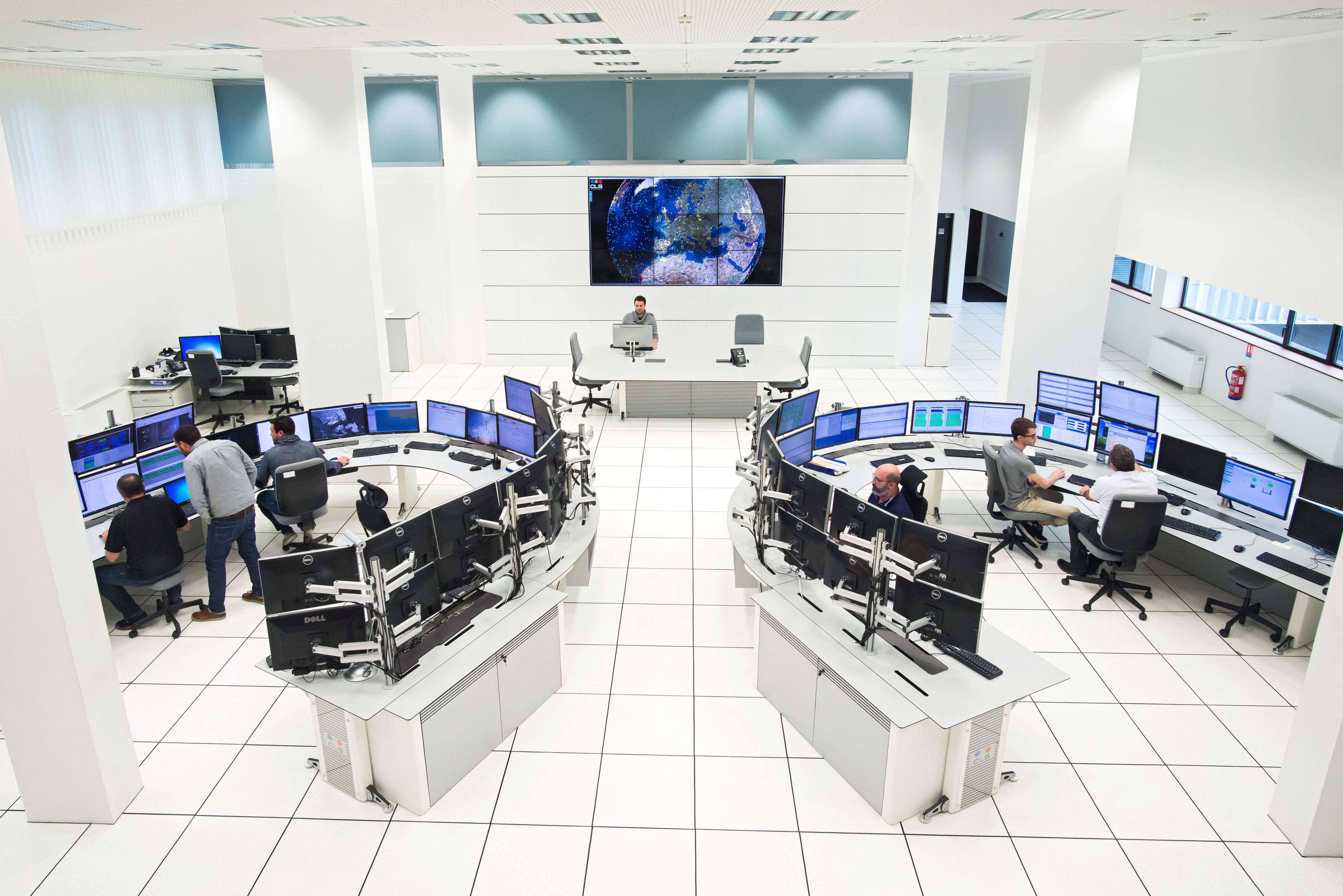 centro de las operaciones de CLS