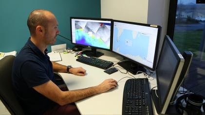 Jimmy Viard, CLS radar image analysist