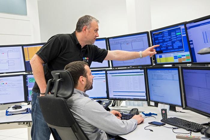 équipe centre opérationnel de CLS
