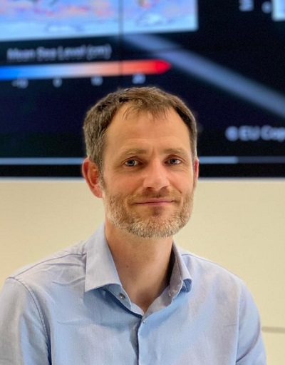 Fabien Lefevre, Manager of the Ocean and Climate division at CLS