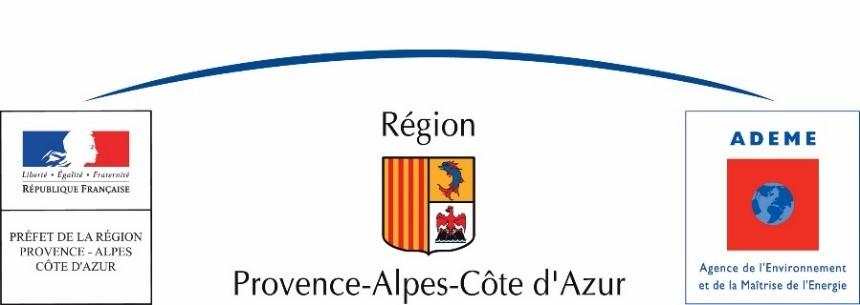 logo région PACA et ADEME