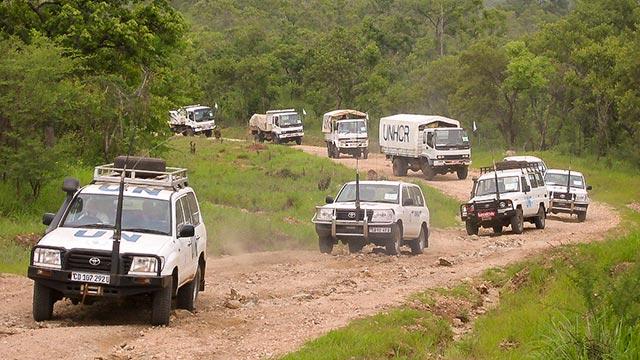 Convoi UNHCR