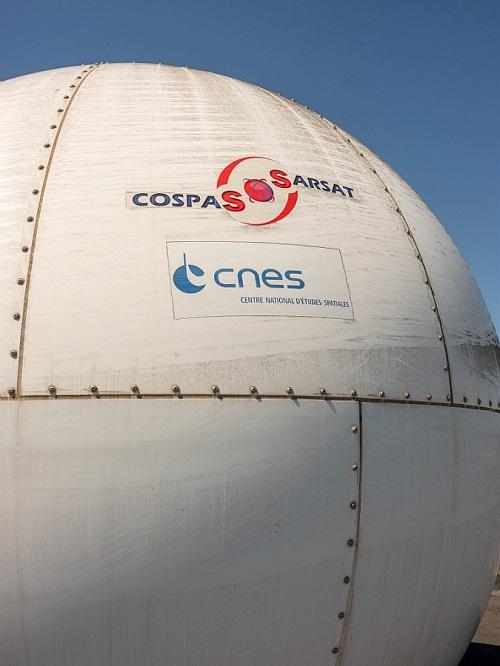antenne Cospas-Sarsat à Toulouse (France)
