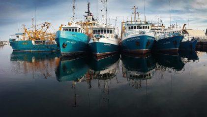 Fishing boats - Batreaux de pêche