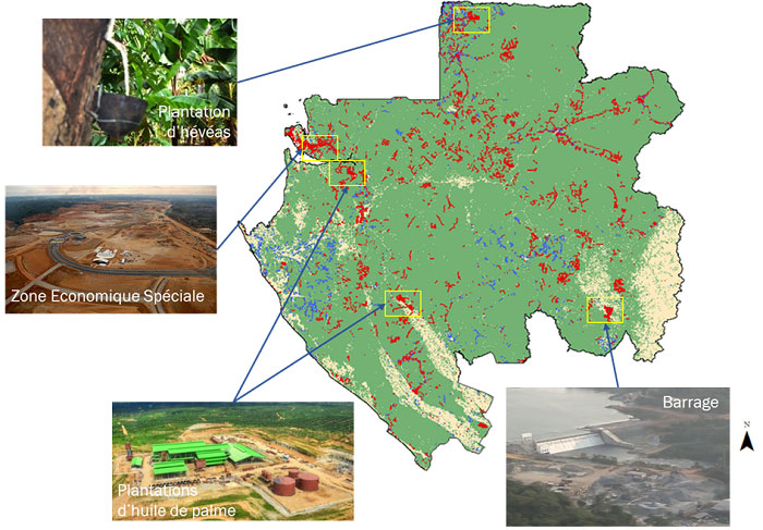 cartographie Gabon