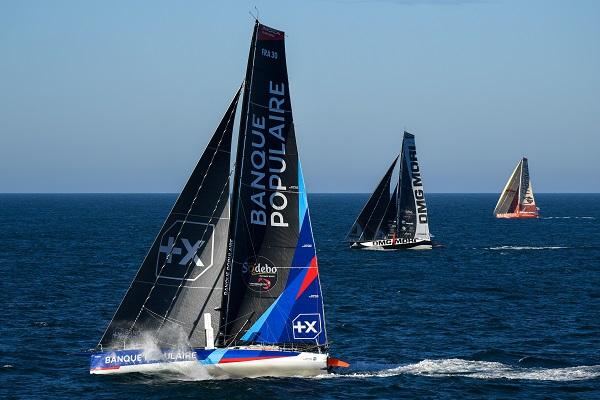 Starting of the Vendée Globe 2020 Race Edition