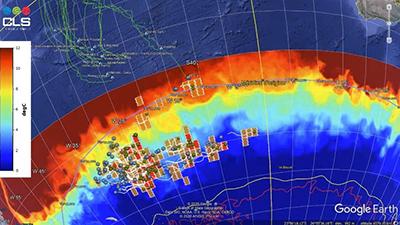 iceberg detection map