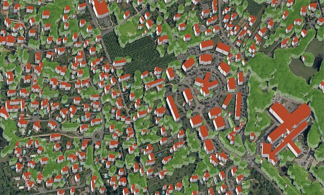 cartographie végétation SIRS