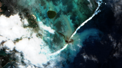 maritime pollution in Mauritius