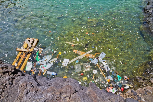 coastal plastic pollution