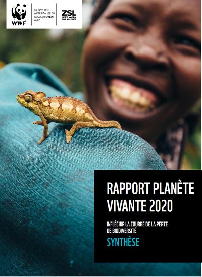 rapport planète vivante WWF 2020